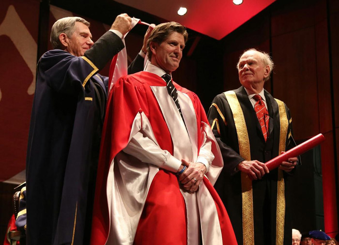 Mike Babcock honorary degree McGill University