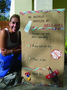 The Bellair's Recycling Program contributes to builiding a culture of sustainability by encouraging greener habits.