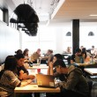 The E-Café in McConnell Engineering Building has undergone a revamp. (Lauren Benson Armer / McGill Tribune)