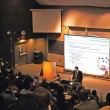 Alain Beaudet spoke on the future of Canadian health research at McGill. (Lauren Benson Armer / McGill Tribune)