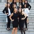 The executive Team of MWIL. (Photo courtesy of McGill Women in Leadership)