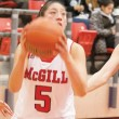 Diana Ros and the Martlets look to take the CIS by storm. (Wendy Chen / McGill Tribune)