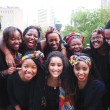 A close-up of MASS members. (Photo courtesy of McGill African Students Society)