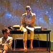 Max Katz and Julia Borsellino reflect as star-crossed poets and lovers. (Emma Hameau / McGill Tribune)