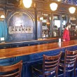 Maison Publique's striking handmade wooden bar. (Jack Neal / McGill Tribune)
