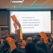 Councillors vote on motion to support student associations with their anti-austerity measures (L-A Benoit / McGill Tribune)