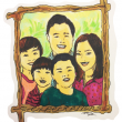 A Huang family portrait. (Susanne Wang / McGill Tribune)