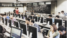 Learn to code connected novice programmers with experienced peers. (Photo courtesy of HackMcGill / Instagram)