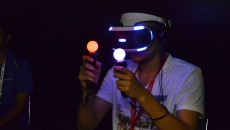 MIGS15 provided attendees the opportunity to sample a variety of new video game  platforms and technologies.  (Emma Hameau / McGill Tribune)