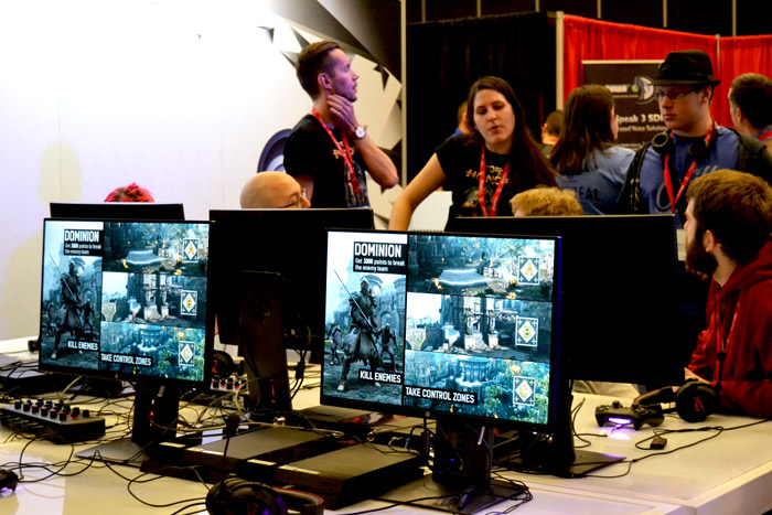 Indie developers presented new creations at MIGS15. (Emma Hameau / McGill Tribune)